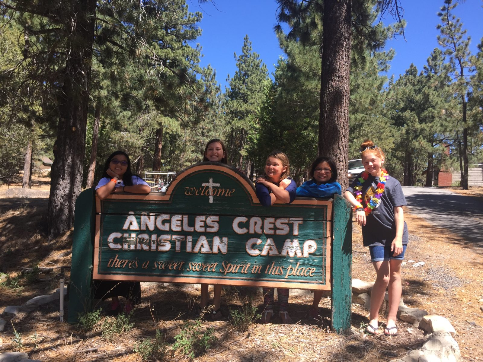 club-56-camp-angeles-crest-camp-sign