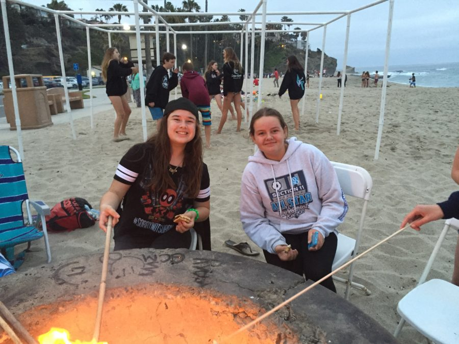 confirmation-fun-friday-fire-pit-gab-emily